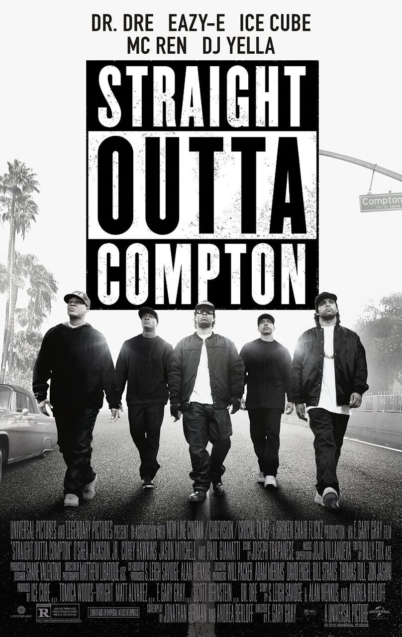 Straight Outta Compton Movie Poster (Click for full image) | Best Movie  Posters