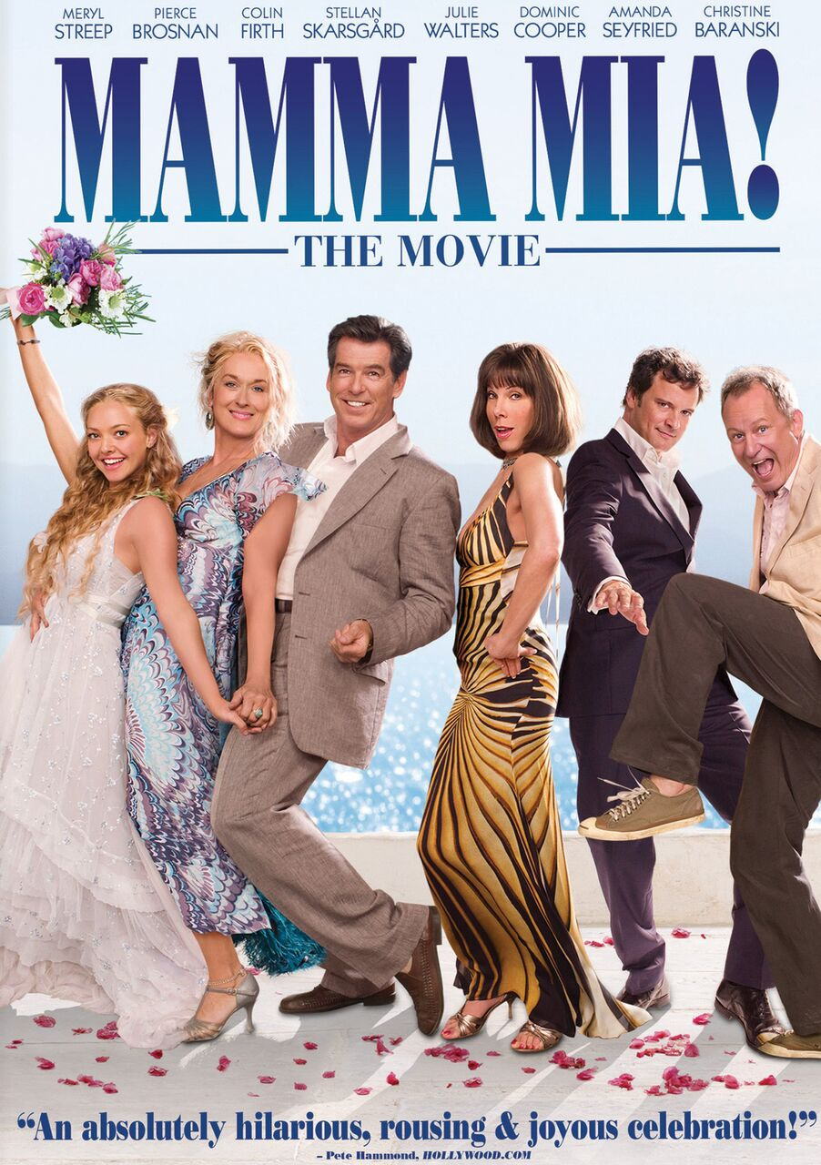 Image result for mamma mia poster