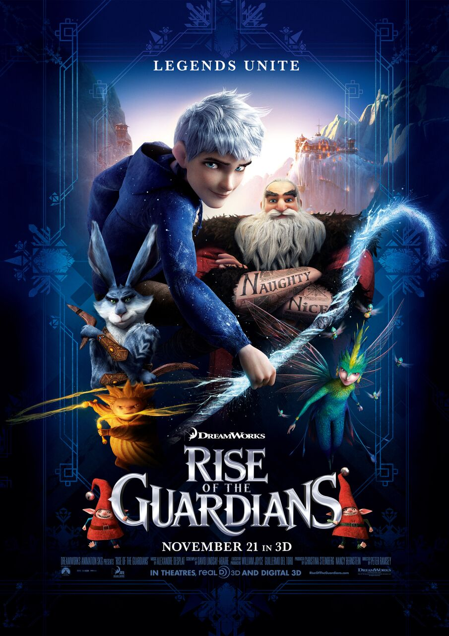 Rise of the Guardians Movie Poster (Click for full image